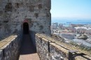 Opening to the Moorish Castle that is located on the way down heading back to the boat.