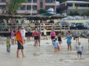 Kid day at the beach in St. Maarten