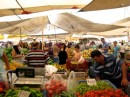The weekly market in Fethiye