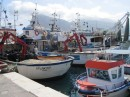 Fishing boats in Sicily