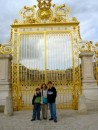 The Palace of Versailles gates