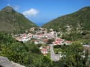 the windwardside town in saba
