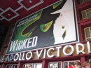 Wicked was amazing - english accents and all.