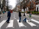 We almost got killed trying to get this shot on Abbey Road!
