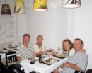 More delicious food in Corfu Town w/ John and Jean on Kajtulla
