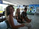 waiting at nadi airport for riaan
