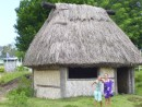 a traditional Fijian house - Bure