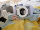 our panasonic lumix camera with underwater housing