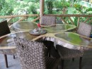 Banyan Tree table at Stacey