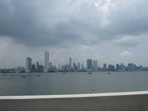 Panama financial and business district