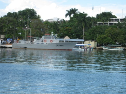 Guatemalan Navy at Livingston