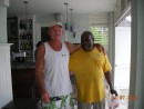 Gary and Mike, Montego Bay Yacht Club