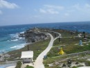 View from the lighthouse on Punta Sur