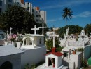 Really beautiful cemetery right next to the ritzy hotel on the north end of the island