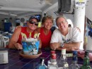 Gary, Patty and Chuck at Jax Sportsbar