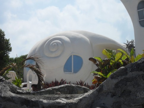 Shell house, Punta Sur