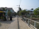1 mile sidewalk, Placencia (took 30 years to complete???)