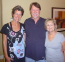Me, Bill & Jan Price at their home in Vero