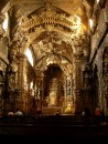 Oporto - Santa Clara chapel - fantastic hand carved & gilded interior