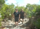Taking a walk on Thomas Cay in the Pipe Creek area