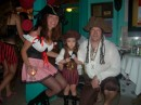 A family that was really prepared for the pirate party