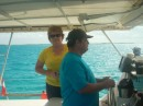 Don at the helm of Five Islands