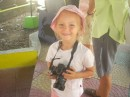 Mila from Shaka - a future photographer