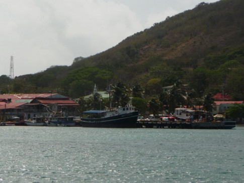 The main pier at Providencia