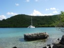Saint John, USVI: Saint John, USVI. Anchored off of Waterlemon Island