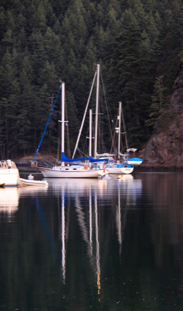 Early morning on Eagle Harbor