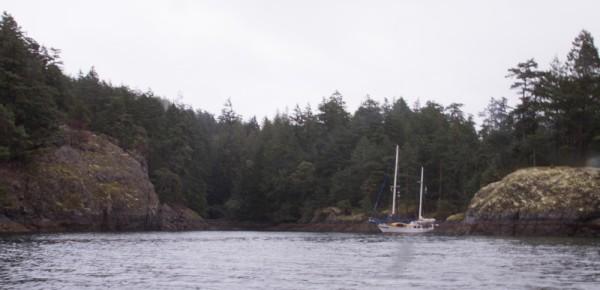 Deep Bay at Jedediah Island Provincial Marine Park