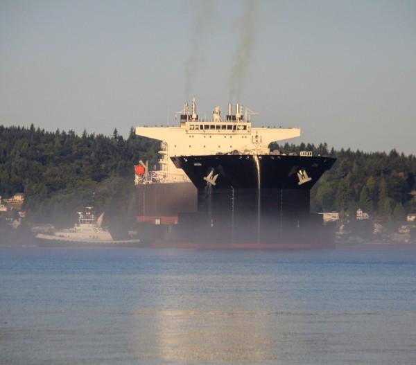 USNS John Glenn on Yukon Harbor