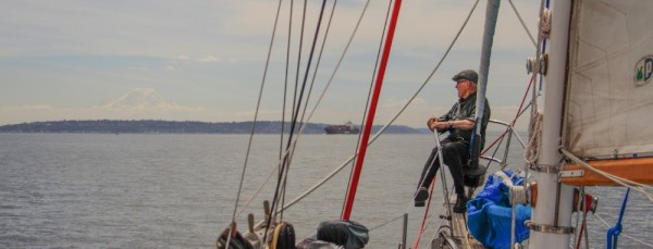 Sailing from Poulsbo to Eagle Harbor with Ed Davis