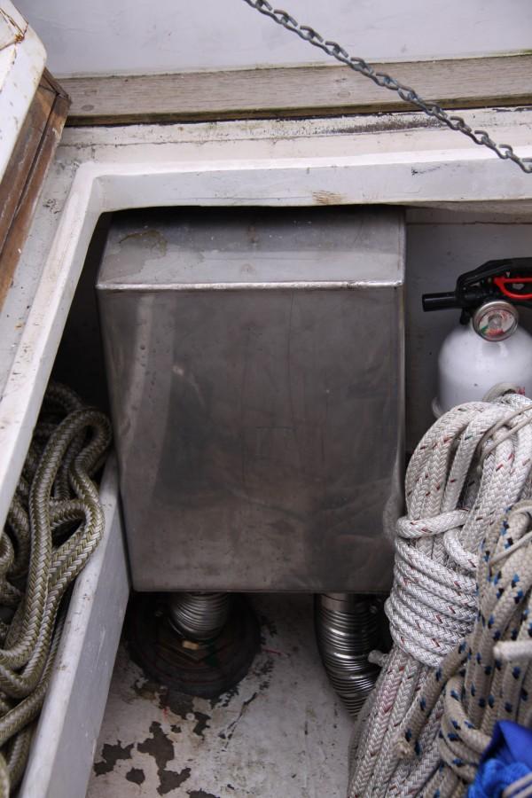 Water box installation