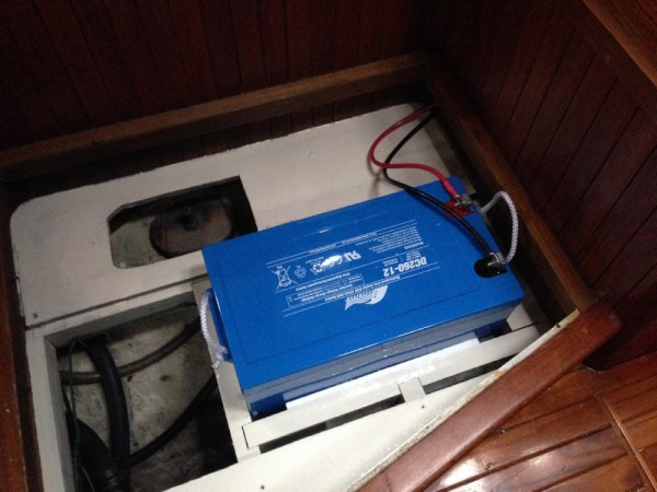 New House battery
