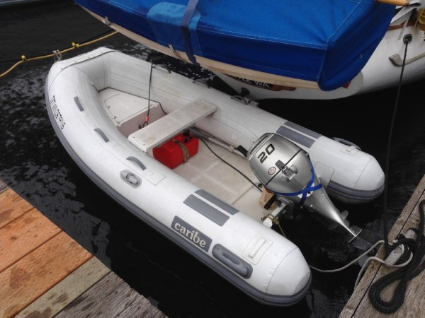 For sale:  2008 Caribe C10X with 2008 Honda 20HP outboard - $3500.  Motor newly serviced.
