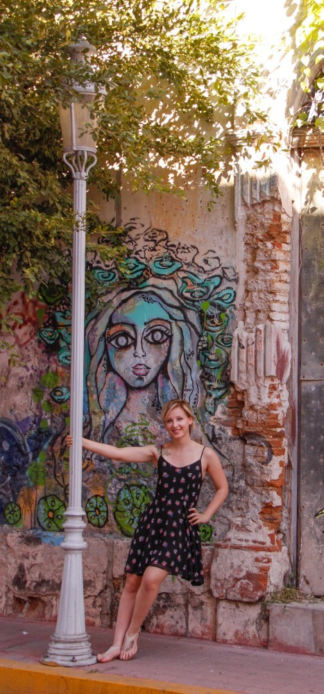 Emily in Mazatlan