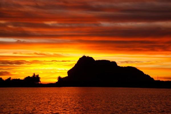 Pensive sunset