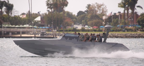 Navy Seals go-fast boat