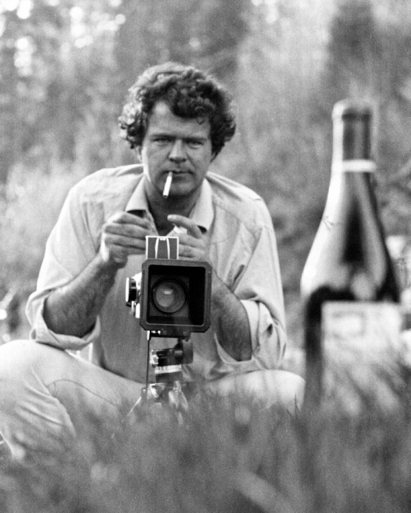 This is of Swan as I would also like to have known him, ...cigarettes, cameras and wine.