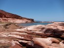 Puerto Los Gatos - magnificent red rock formations