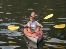 Ned and Carol kayaking