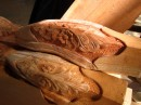 Hand carved legs for furniture