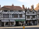 Stratford-on-Avon pushes Tudor architecture to the max
