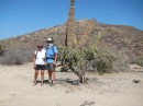 Off on our six mile hike in 104 degrees.  Are we crazy?