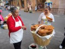 food sellers on the street