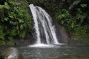 This waterfall was located in the Guadaloupe National Park and was wheelchair accessible