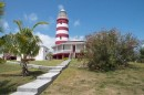 Lighthouse at Hopetown in the Abacos