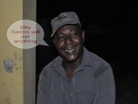 Cutty, our fearless taxi-driver, tour guide and friend. He taught us so much about the island of Grenada.