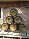 Barrels of rum- they should age it for another 100 years - its not exactly the best tasting rum